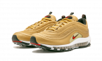 Nike Air Max 97 OG QS 2017 METALLIC GOLD/VARSITY RED 884421 700