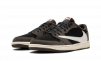 Air Jordan 1 Low Travis Scott BLACK/SAIL-DARK MOCHA/UNIVERSI