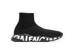 Balenciaga Speed Graffiti Black